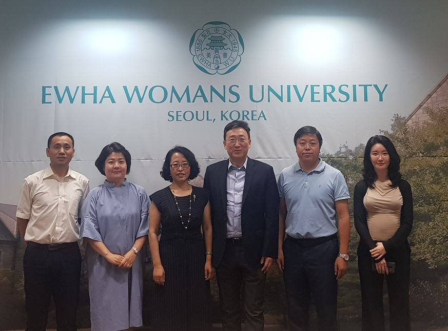Central University of Finance and Economics delegation visits OIA 첨부 이미지