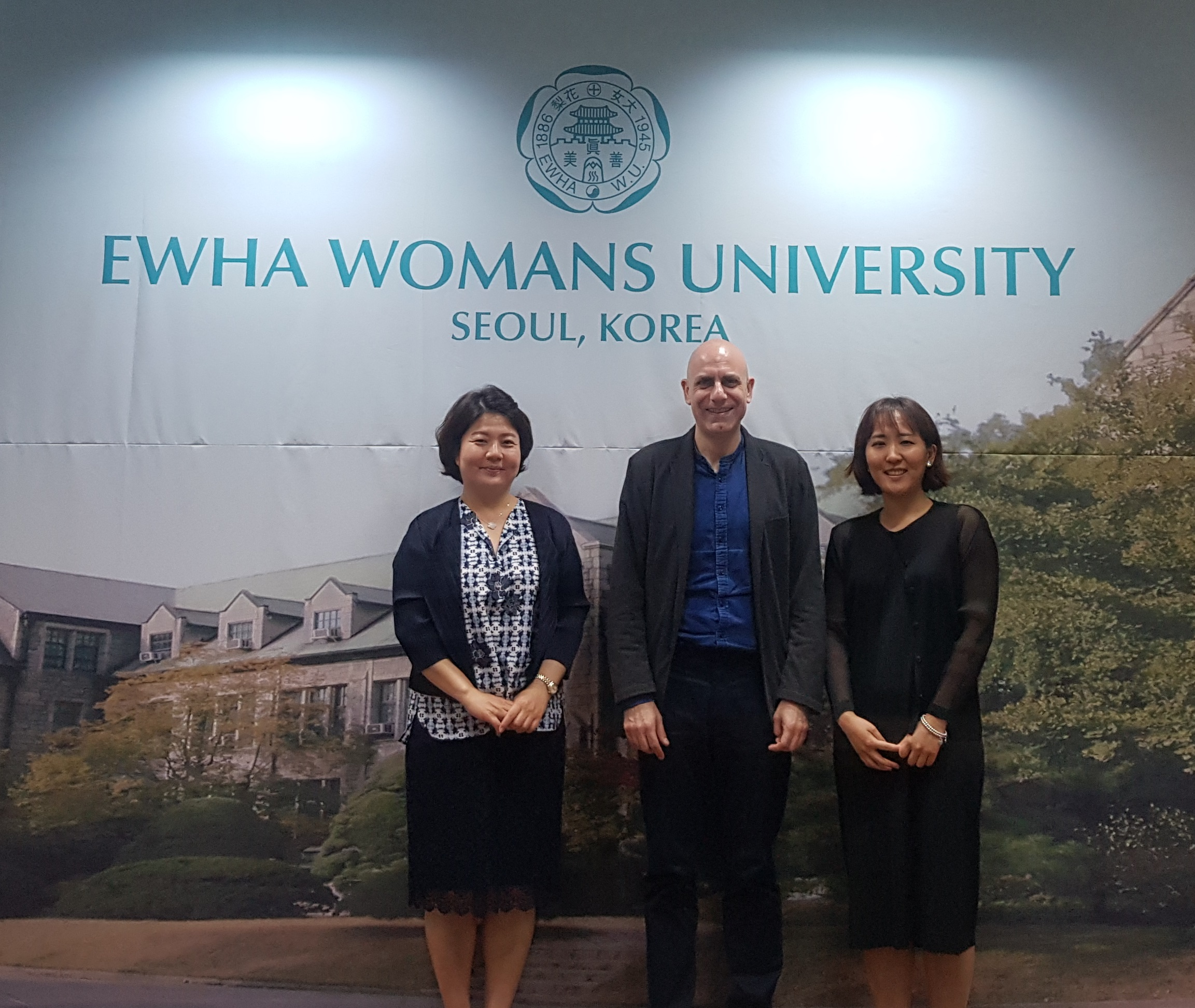 The University of Bologna Rector's Delegate for Asia and Oceania visits OIA 대표이미지